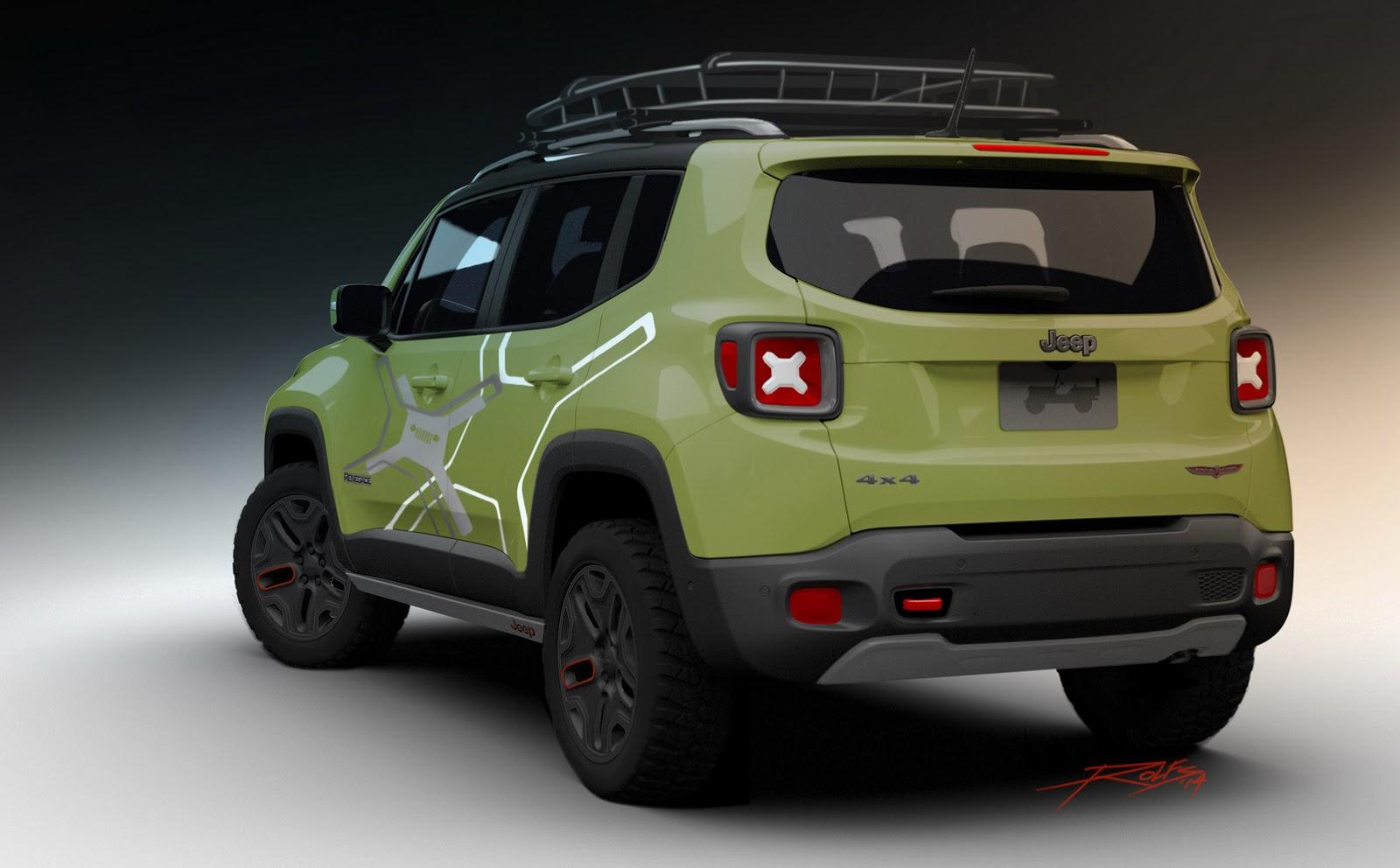 mopar preps a pair of jeep renegade concepts for naias. Black Bedroom Furniture Sets. Home Design Ideas