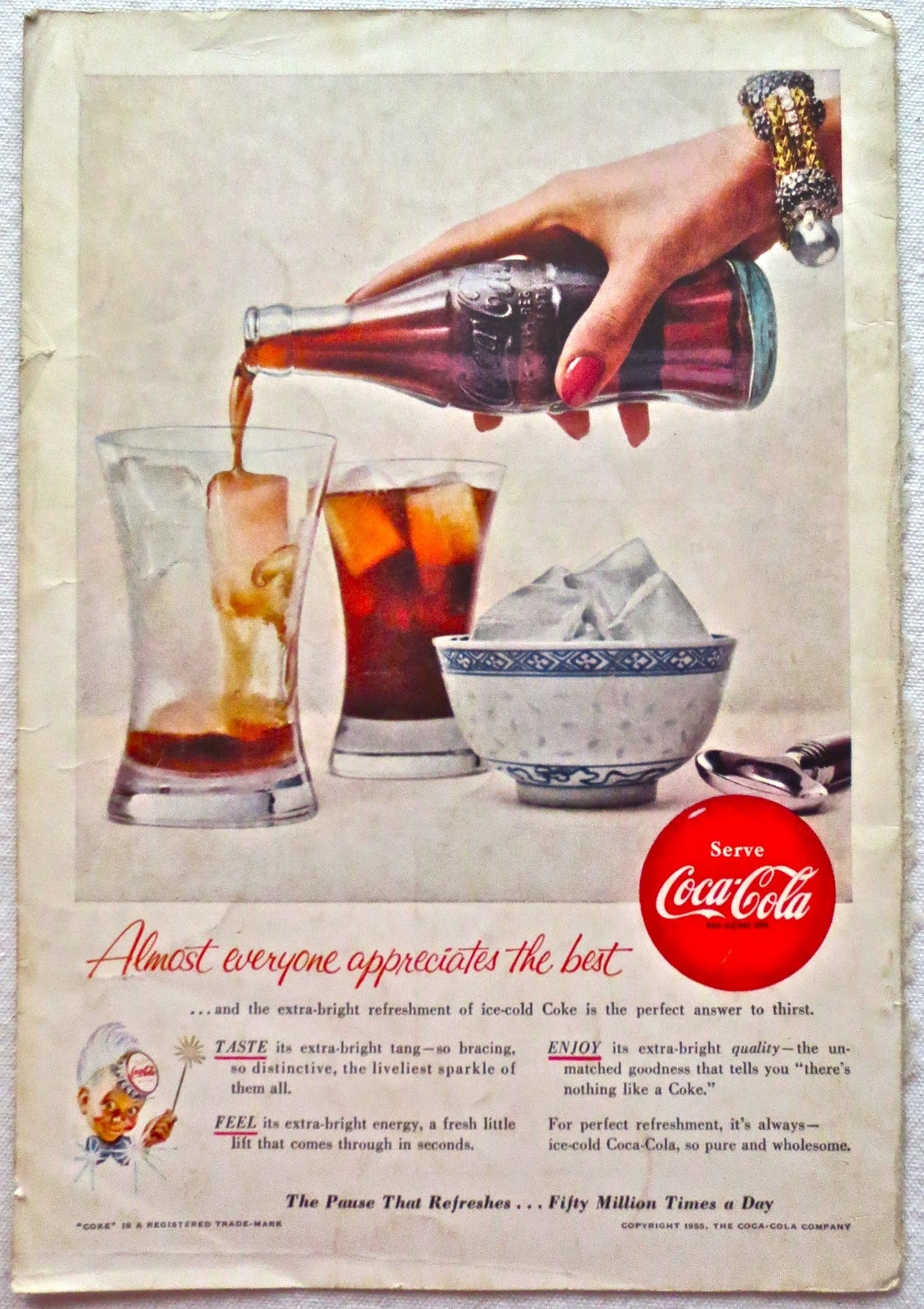 art skool damage christian montone vintage coca cola ads part 1. Black Bedroom Furniture Sets. Home Design Ideas