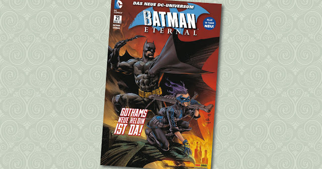 Batman Eternal 21 Panini Cover