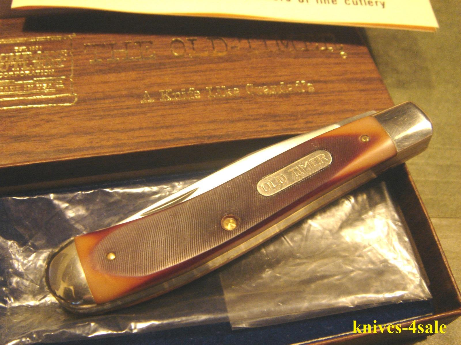 knives-4sale: Vintage Schrade USA 194OT Old Timer Trapper