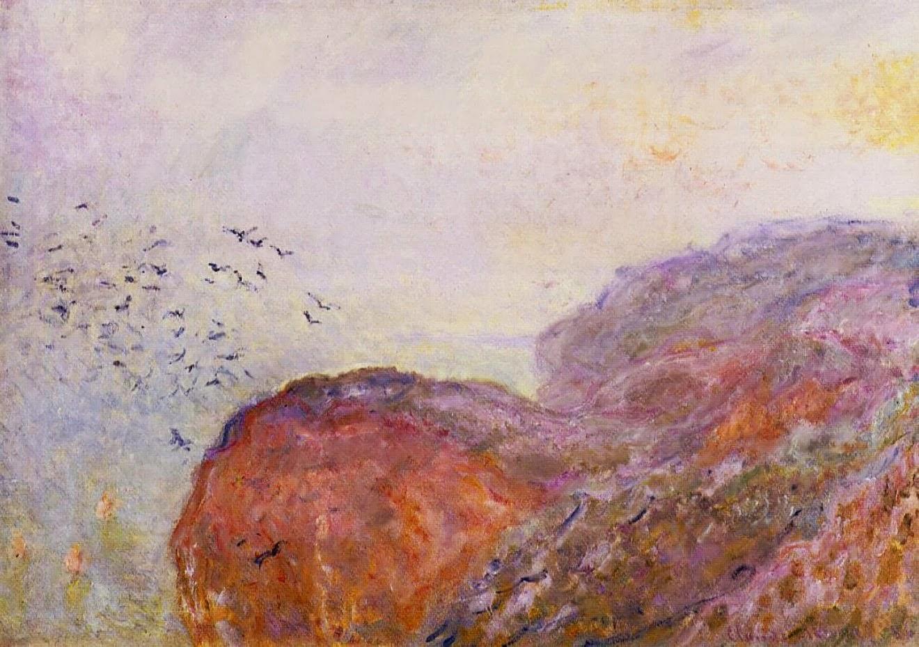 La falaise près de Dieppe (ca. 1896)