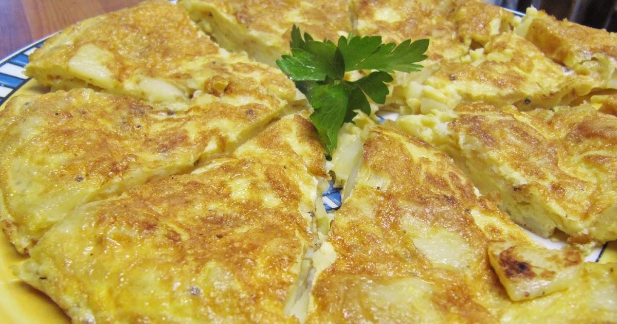 # 2 Spanish omelet - Tortilla Española