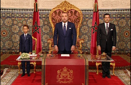 diaspora saharaui sm le roi adresse un discours la nation l 39 occasion du 60 me anniversaire. Black Bedroom Furniture Sets. Home Design Ideas