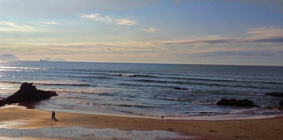 surf sopela olas medio metro toca de viento