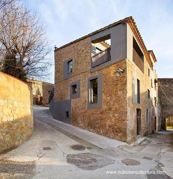 Arquitectura de casas sobre las casas de pueblo en europa - Casas de pueblo reformadas ...