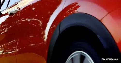 Fiat 500X Side
