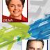 Datafolha - Em nova pesquisa, Dilma lidera com 52% e Aécio tem 48% dos votos válidos