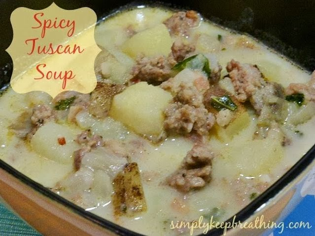 Spicy Tuscan Soup Recipe