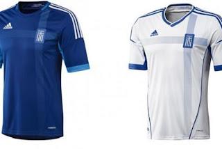 Kostum Yunani Euro 2012