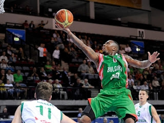 E.J. Rowland at Banvit Turkey
