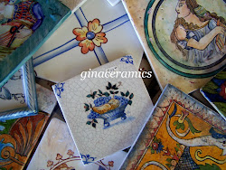 My hand painted Ceramic Tiles