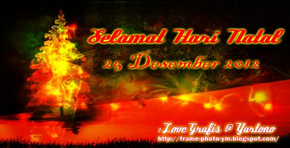 Selamat Natal 25 Desember 2012 ~ I Love Grafis