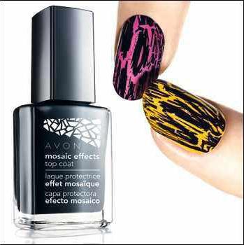 Femme Noblesse Oblige*: Mosaic Effects Nail Polish