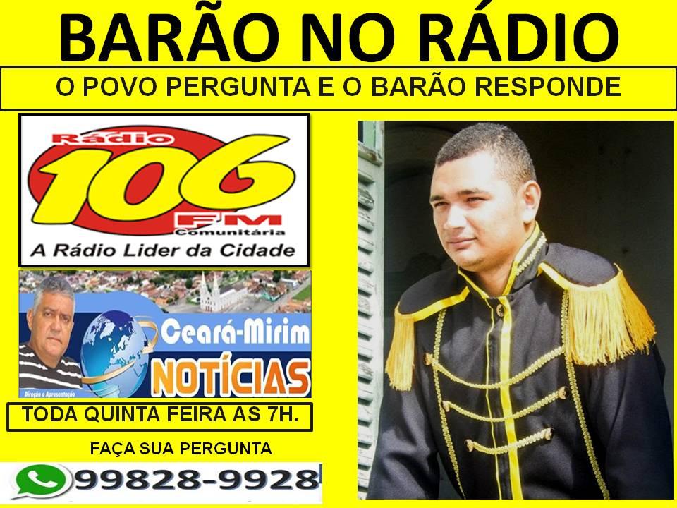 BARÃO NO RÁDIO
