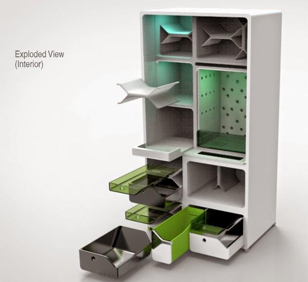 green refrigerator-1