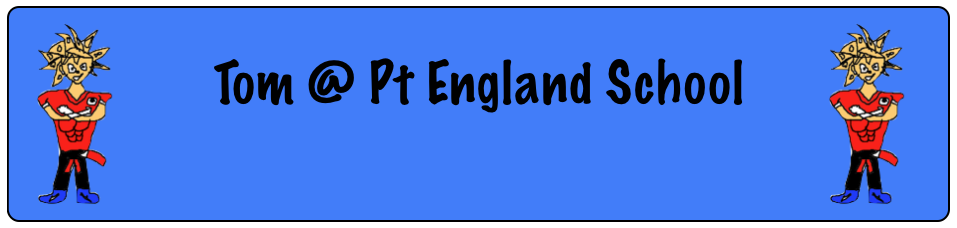 Tom @ Pt England School