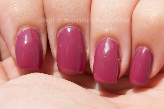 Orly - Quite Contrary Berry