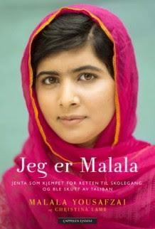 Jeg er Malala av Malala Yousafzai og Christina Lamb