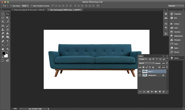 How To Use Photoshop To Decorate Your Home: Find an image of what you want in your home