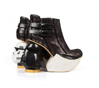The Death Star shoes from Irregular Choice