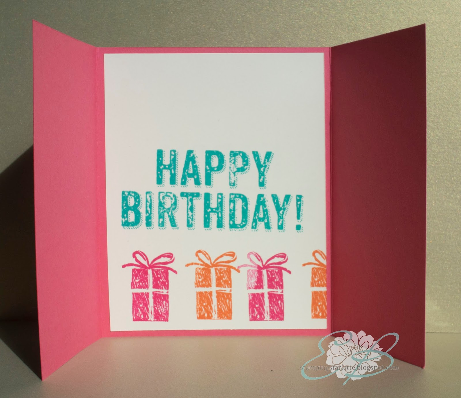 Stamping Starlette: SSInk: August Quick And