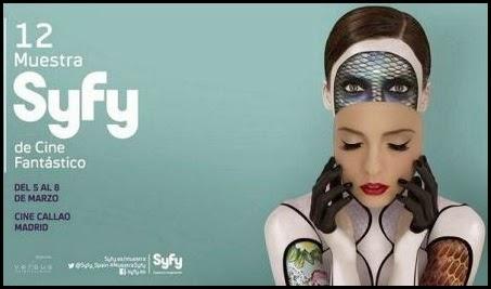 Cartel de la 12ª Muestra Syfy de Cine Fantástico