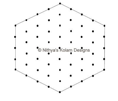 2 Kolam 86: Easy Apartment Kolam