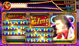 Winning screen at House of Elvis Slots