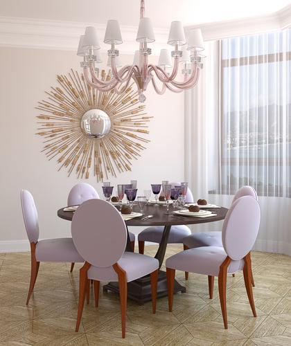 Decora o sala de jantar com mesa redonda cores da casa for O que significa dining room em portugues