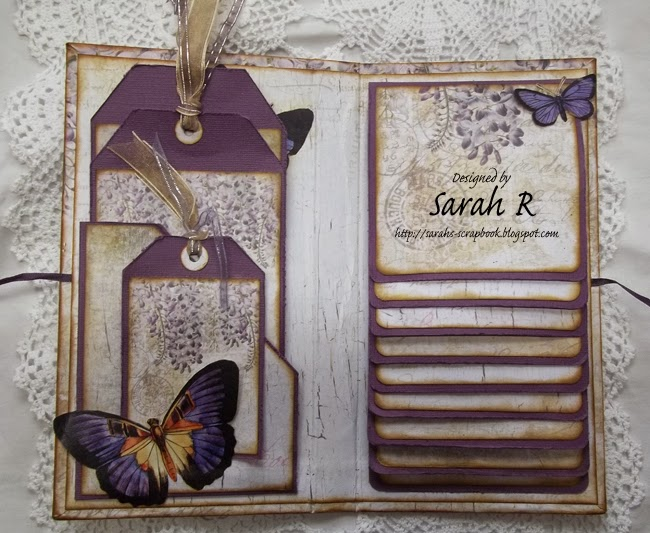 Scattered pictures and memories forgotten meadows mini for Waterfall design in scrapbook