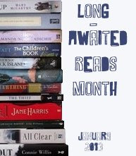 Long-Awaited reads month button