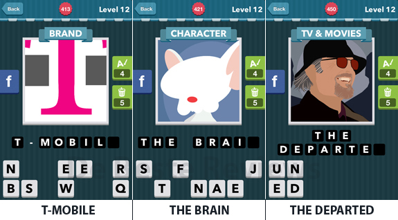 Icomania Level 12: cheats, hints, oplossingen en antwoorden