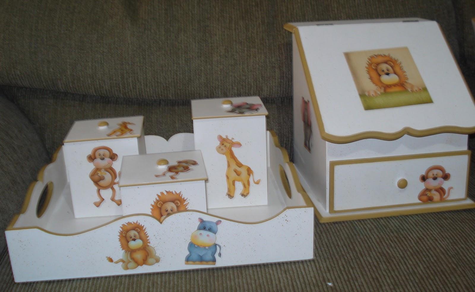 Artesanatos Dona Casa: Kit de Bebê Safari #916E3A 1600x984