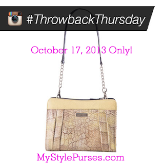 Miche Throwback Thursday October 17, 2013: Bethany Petite Shell $4.95