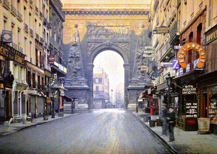 Париж 100 лет назад
