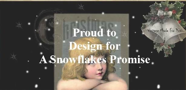 I design for: A Snowflakes Promise