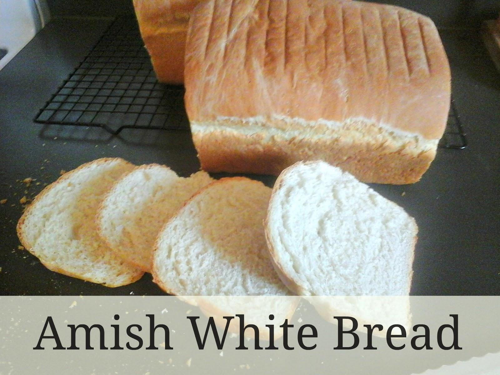 KitchenBoredum: Amish White Bread