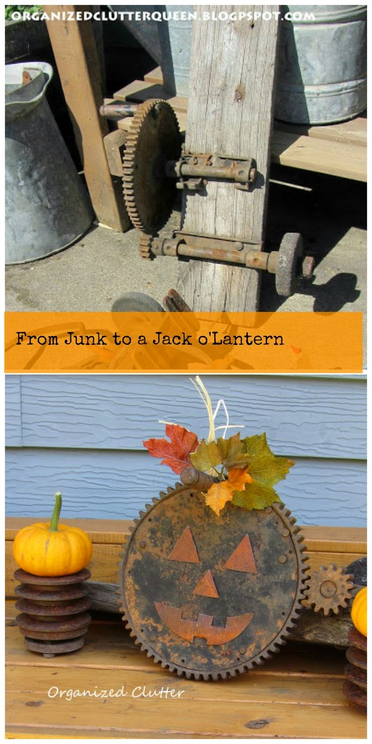 Never New Repurposed Halloween Decor
