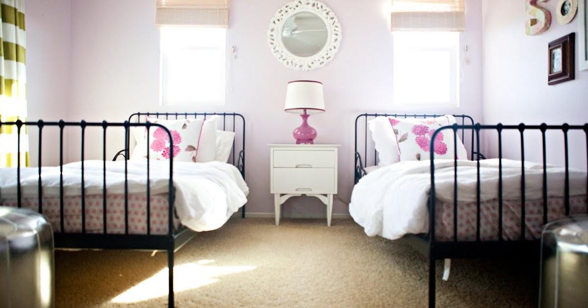 lillie s blog the girls room creative shared bedroom for three girls hgtv