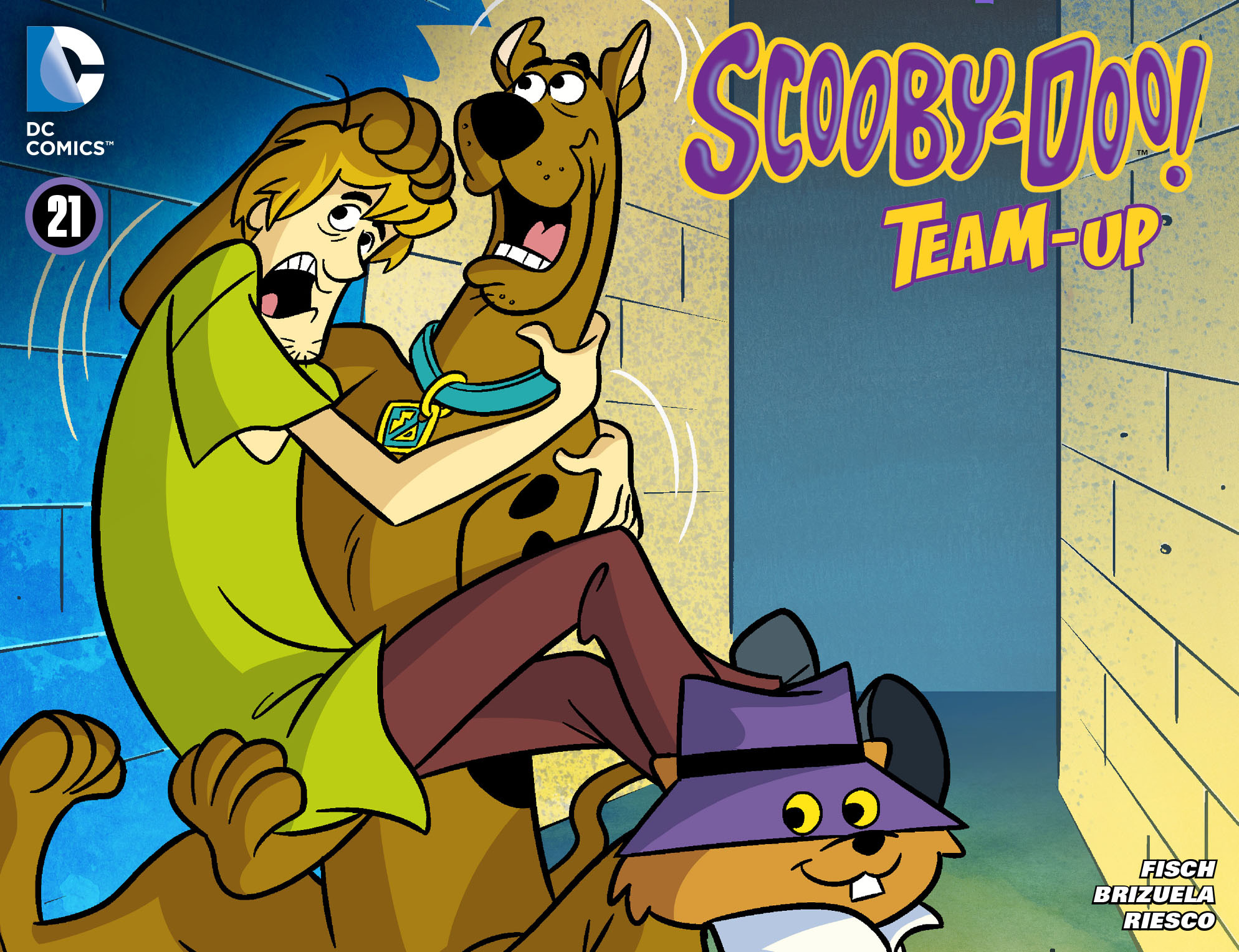 Read online Scooby-Doo! Team-Up comic -  Issue #21 - 1