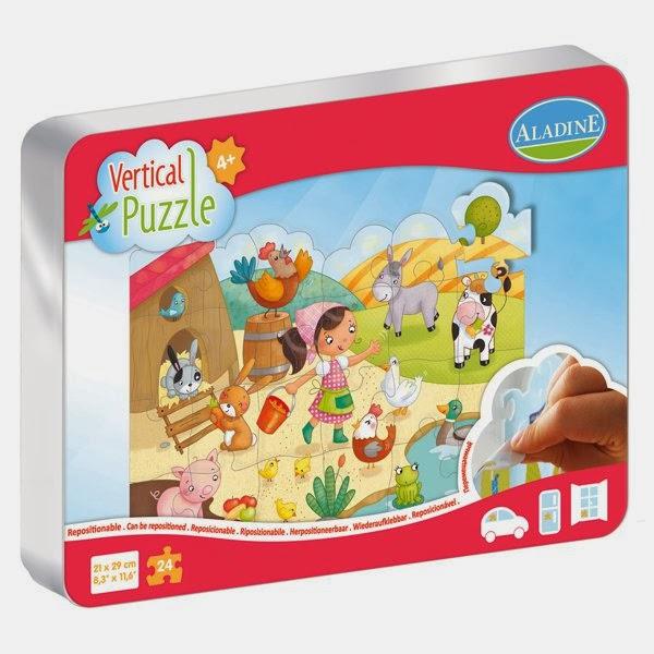 Vertical puzzle-Aladine-La ferme