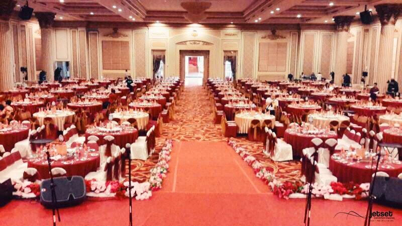 Jetset event party organizer venue review zhang palace ballroom zhang palace lantai 3 surabaya junglespirit Image collections