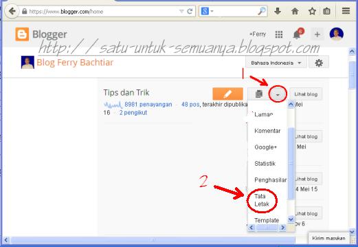 cara menyembunyikan laman pada gadget pages blog-1