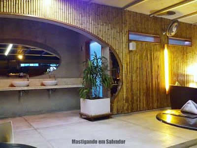 Restaurante Montello Gourmet: Ambiente externo