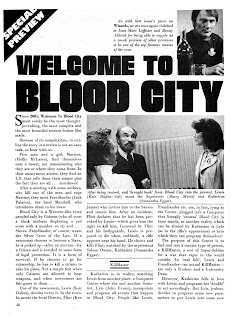 Welcome to Blood City.