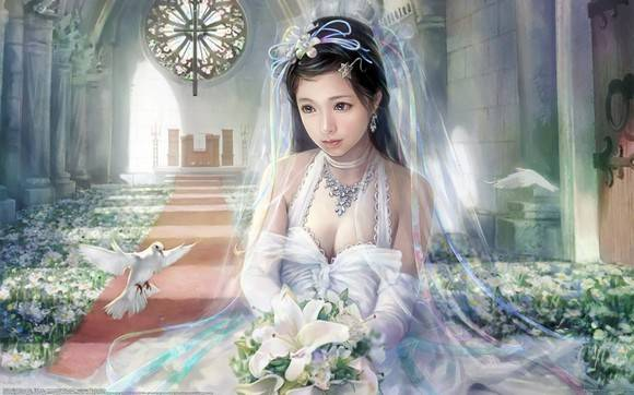 CG Art Wallpaper I Chen Lin Artwork 24
