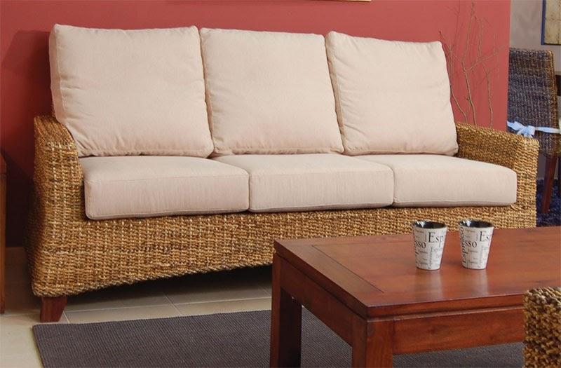 La web de la decoracion y el mueble en la red sof s de mimbre - Sofas de mimbre ...