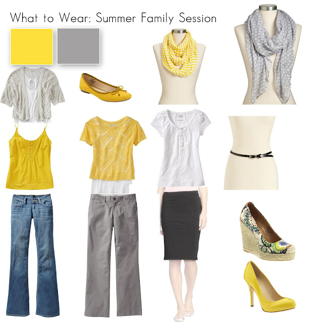 Fashion week Family summer pictures what to wear for lady