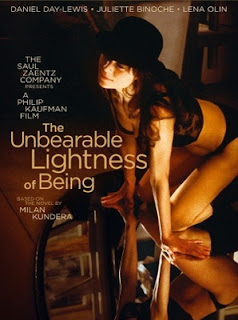 the unbearable lightness of being, directed by phillip kaufman