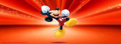 Couverture facebook cartoon mickey